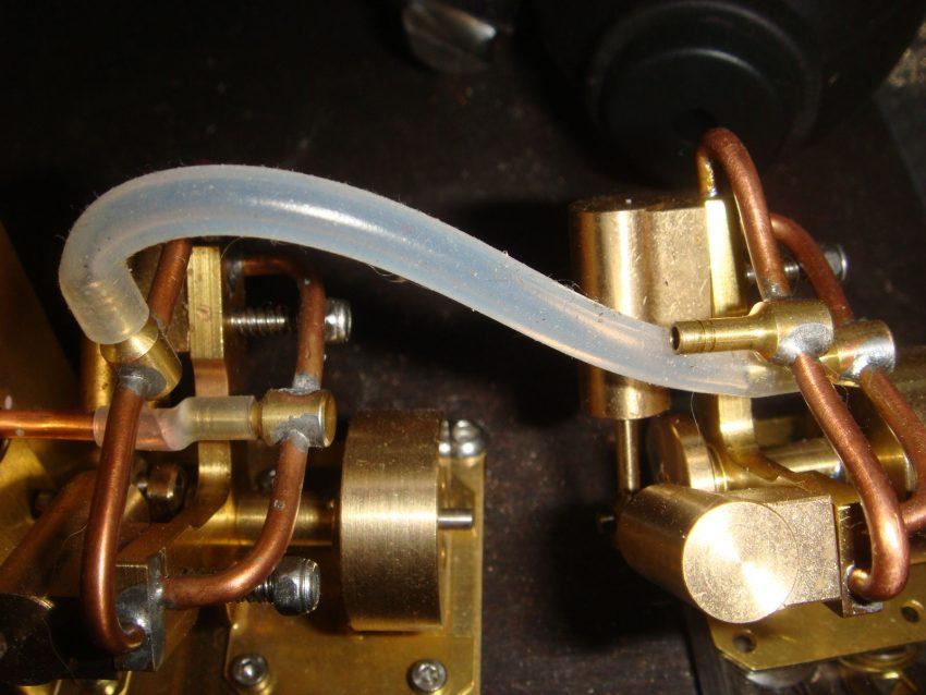 Silikonschlauch Dampfleitung